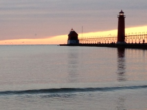 The lighthouse in the town where I live.