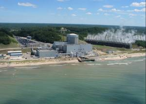 The Palisades nuclear power plant in West Michigan.